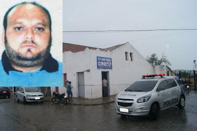 COMERCIANTE É ASSASSINADO E O CUNHADO BALEADO DENTRO DO SEU COMÉRCIO EM SAPUCARANA DE BEZERROS